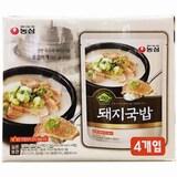 농심 쿡탐 돼지국밥 500g  (4개)