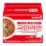 삼양식품 국민라면 107g (5개)