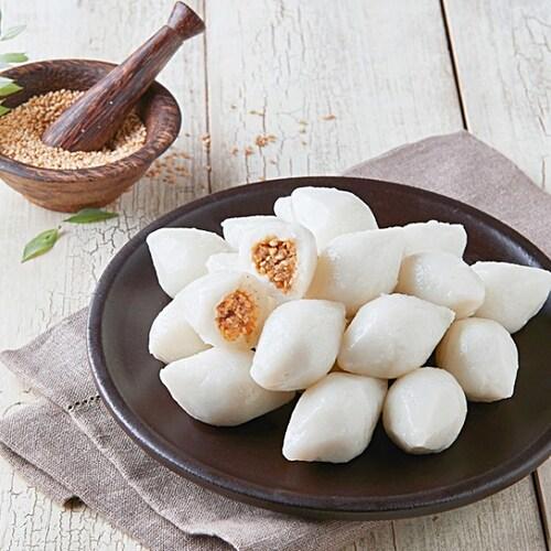 아하식품 우리쌀 깨송편 1kg (1개)_이미지