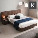 밀레 호텔 평상형 침대 K+협탁