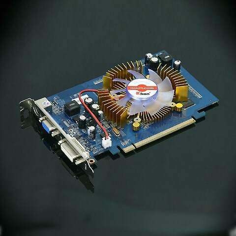 KHAN 지포스 8500GT 칸 DDR2 512MB S4리그_이미지