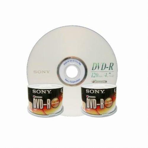 SONY DVD-R 4.7GB 16x 케익 (2 x 50장)_이미지