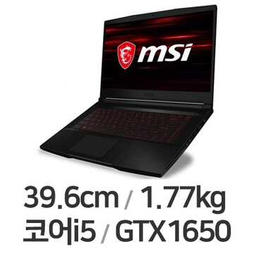 MSI GF시리즈 GF63 Thin 10SC-i5 W10