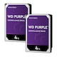 Western Digital WD PURPLE 패키지 5400/64M WD40PURZ (2x4TB)_이미지