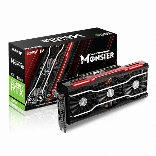 이엠텍 HV 지포스 RTX 2080 BLACK MONSTER OC D6 8GB_이미지