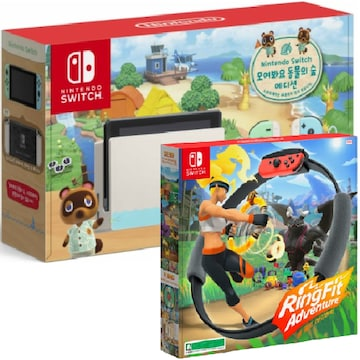 Nintendo 닌텐도 스위치 동물의 숲 에디션 1인용 게임 패키지