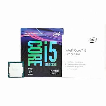 인텔 코어i5-8세대 8600K (커피레이크) (정품)