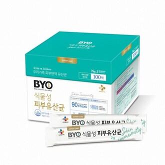 CJ제일제당 BYO 식물성 피부 유산균 90포 (1개)_이미지