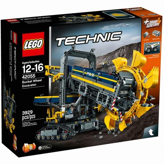 레고 테크닉 버킷 휠 엑스케베이터 (42055) (정품)