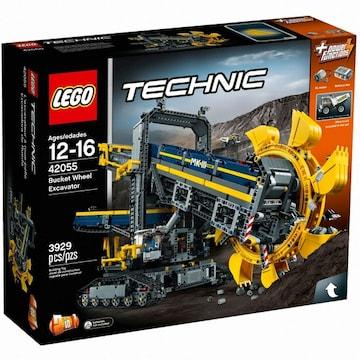 레고 테크닉 버킷 휠 엑스케베이터 (42055)