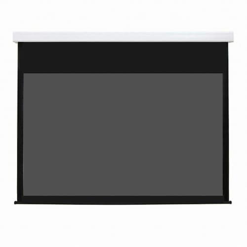 DCS 와이드 전동 노출 스크린 DCS-A 시리즈 4KC-PRO3 블랙원단 (130형, DCS-AW130 4KC PRO3)_이미지