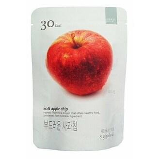 우원식품 딜라이트 프로젝트 부드러운 사과칩 8g (1개)_이미지
