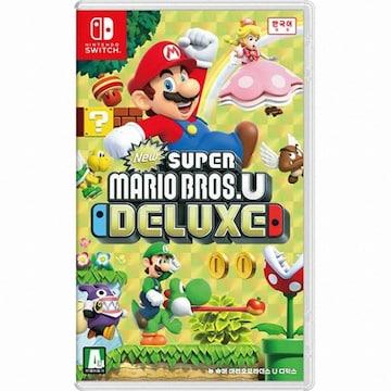 Nintendo  뉴 슈퍼 마리오브라더스 U 디럭스 SWITCH (한글판,일반판)