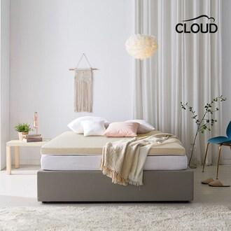 신우팜앤라텍스 킵에잇 천연라텍스 매트리스 5cm (슈퍼싱글 SS)_이미지