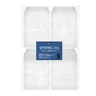 애견산업 아몬스 절약형 패드 소형 20g 100매 (4개)_이미지