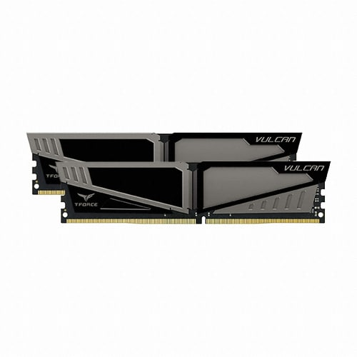 TeamGroup T-Force DDR4 8G PC4-21300 CL15 VULCAN Gray (4Gx2)_이미지