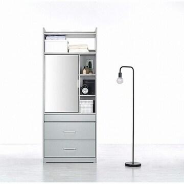 까사미아 까사온 라이트핏 드레스룸 멀티수납장(80cm)