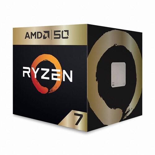 AMD 라이젠 7 2700X GOLD EDITION (피나클 릿지) (정품)_이미지