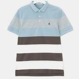제일모직 빈폴 브라운 스포티 컬러 블록 칼라 티셔츠 BC8442C15D_이미지