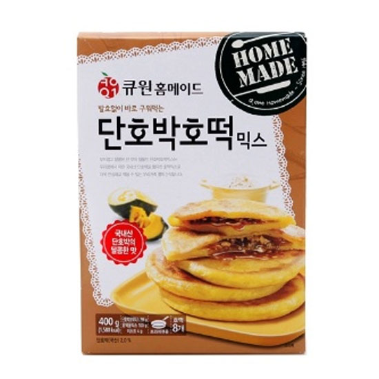 삼양사 큐원 홈메이드 단호박호떡믹스 400g(1개)