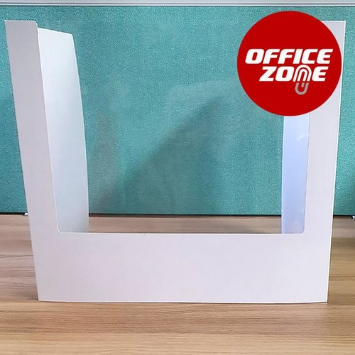 오피스존 백색 창문형 가림판 칸막이