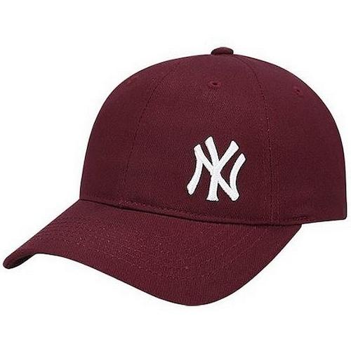 MLB 뉴욕 양키스 롱스트랩 스몰로고 볼캡 32CPIJ831-50E_이미지