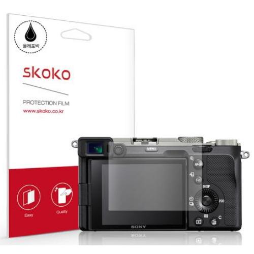 스코코 SONY A7C용 올레포빅 액정보호필름