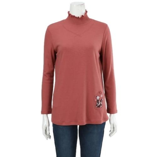 기비(GIVY) 여성 프리가 기모 티셔츠 G8WT8N1-71_이미지