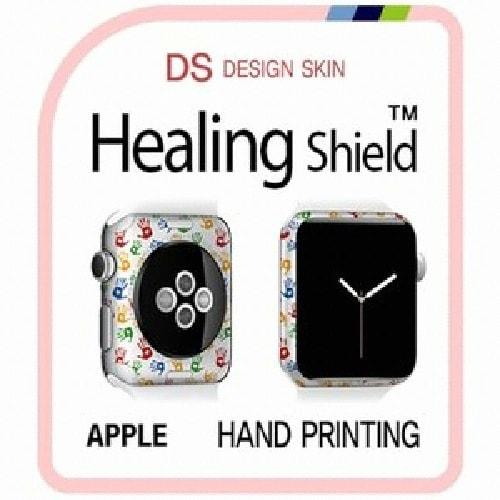 폰트리 힐링쉴드 애플 워치2 38mm 디자인스킨 외부보호필름 HAND PRINTING-DW058 (1매)_이미지