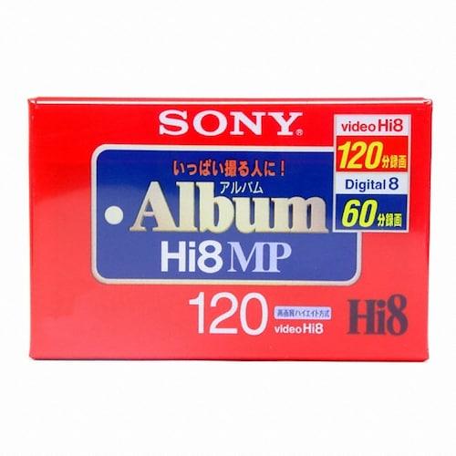SONY P6-120HMP Hi8mm 120분 DV테이프 (3개)_이미지