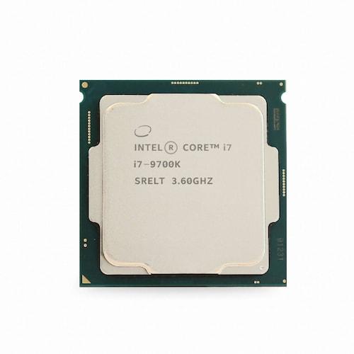 인텔 코어i7-9세대 9700K (커피레이크-R) (중고)_이미지