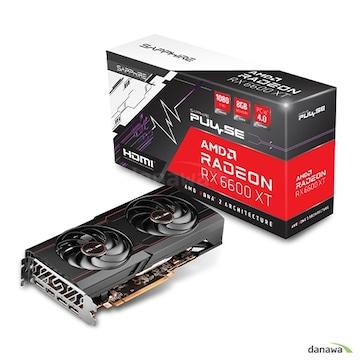 SAPPHIRE 라데온 RX 6600 XT PULSE OC D6 8GB Dual-X