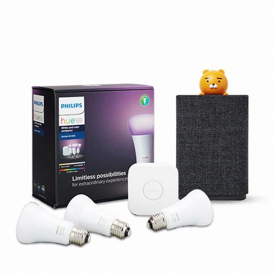 필립스 라이팅 LED hue 3.0 스타터 킷+카카오미니C
