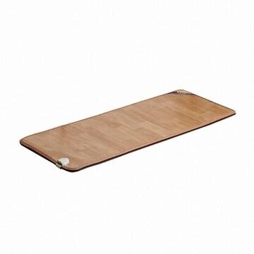 한일의료기  황토우드 난초 온돌마루 전기 카페트매트 (1인용, 75x183cm, 미니)