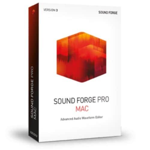 SONY Sound Forge Pro Mac 3 교육용 (ESD)_이미지