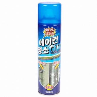 중외산업 에어컨 청소OK 420ml (1개)_이미지