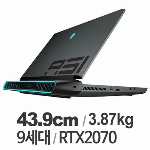 DELL 에일리언웨어 AREA 51M N300S170305KR (SSD 512GB)_이미지