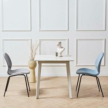 파란들 베라인트 세라믹 식탁세트 750 (의자2개)_이미지