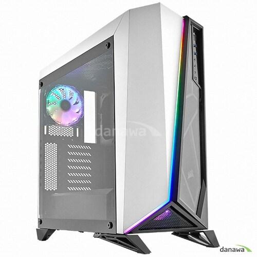 CORSAIR CARBIDE SERIES SPEC-OMEGA RGB WHITE_이미지