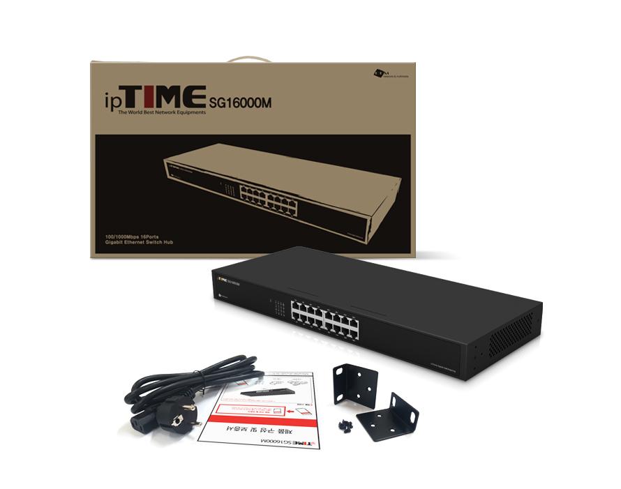 EFM ipTIME SG16000M 스위치허브
