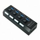 디지털존 WeVO 4포트 USB 3.0 허브 (UH304)