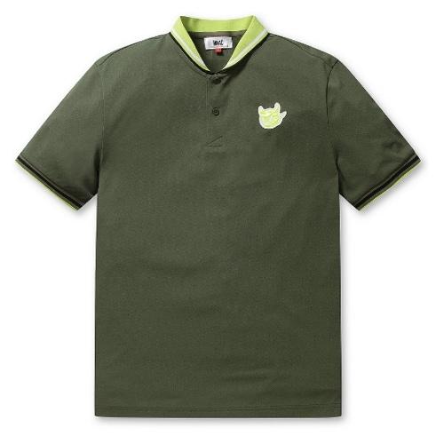 waac 셀럽 숄 카라 티셔츠 WMTCM19402KHX_이미지