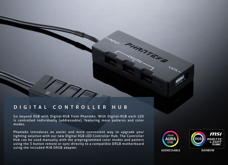 Phanteks  DIGITAL CONTROLLER HUB