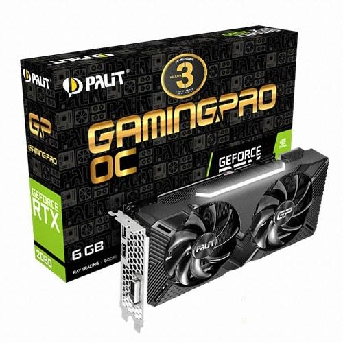 PALIT 지포스 RTX 2060 GAMINGPRO OC D6 6GB_이미지