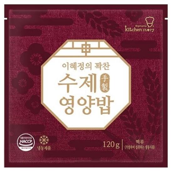키친스토리 이혜정의 꽉찬 수제 영양밥 120g(1개)