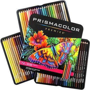 샌포드 프리즈마 유성 색연필(72색)