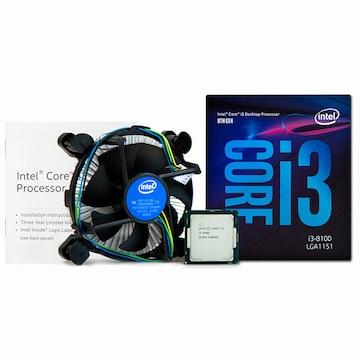 인텔 코어i3-8세대 8100 (커피레이크)(정품)
