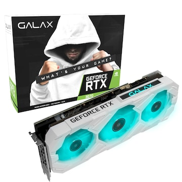 갤럭시 GALAX 지포스 RTX 3070 EX GAMER WHITE OC D6 8GB LHR