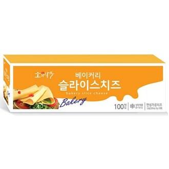 동원F&B 소와나무 베이커리 슬라이스 치즈 1.8kg (1개)_이미지