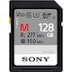 SONY SDXC CLASS10 UHS-II U3 V60 277MB/s (128GB)_이미지